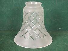 Lampenschirm E14 E27 Antik Stil Glasschirm Hand Geschliffen Lampe Ersatzschirm