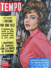 TEMPO n°51 1960 Silva Koscina - Halina Zalewska - Mina Dorelli  [C87]
