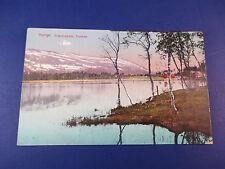 Norge. Praestvandet,Tromso Vintage Colorful Postcard Unused Pc14