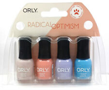 Orly Nail Lacquer - RADICAL OPTIMISM - MINI Pack of 4 Colors x 0.18oz/5.3ml