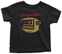 Love Machine Toddler T-Shirt Cute Valentine's Day Gift Love Robots