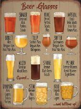 Bicchieri Birra Birreria Bar Pub Men Cave Capanno Vecchio Pubblicità