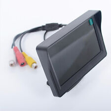 "Waterproof Car Reversing Camera Backup Cam Rear View Kit + TFT 4.3"" LCD Monitor"