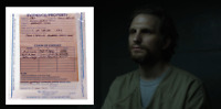 House of Cards Screen Used Lucas Document Ep206 Evidence Bag W/ Envelope Scene 4