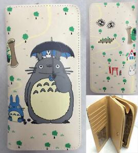 Ghibli Totoro Geldbörse wallet geldbeutel manga cosplay anime digimon pokemon