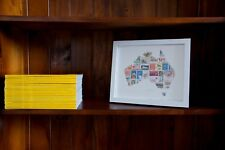 Aus Post Limited Edition Stamp Frame - Trudy Cook - Australia Map New in Box
