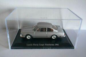 DIE CAST LANCIA FLAVIA COUPE PININFARINA 1961 + TECA RIGIDA BOX 2 SCALA 1/43