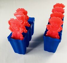 Kool Aid Brand Freezer Popsicle Ice Pop Mold  2 Sets Of 4 Molds Missing 1 Piece