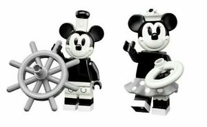 Lego Minifigures Disney Series 2  71024  Mickey & Minnie Mouse in sealed packets