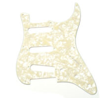 NEW Genuine Fender Strat Pickguard '57 Vintage 8 Hole Aged White Pearl MOTO USA