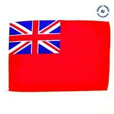 Red Ensign UK Flag 30cm x 45cm with Loop Rope - Marine Yachts / Boats