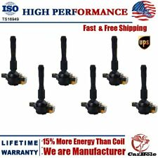 UF354 Ignition Coil 6 Pack For BMW 323Ci 323i 325Ci 2.5L L6 M3 M5 X5 E46 E39 E36