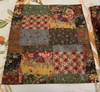 VINTAGE DARBY by Ralph Lauren (2) Placemats & (2) Napkins Floral Patchwork