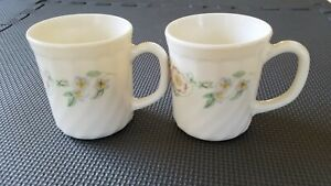 made in France Vintageantiqueold french coffeetea cupsmugs Arcopal