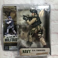 McFarlane's Military Second Tour of Duty Navy Seal Commando Action Figure New!