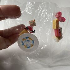 Unopened Moomin Rement Miniature Food & Dishes Set Little My