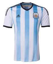Official Adidas Argentina Jersey Medium blue white world cup soccer futbol m