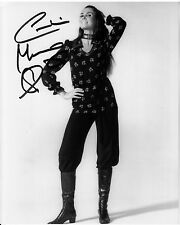 CAROLINE MUNRO hand-signed YOUNG SEXY 8x10 IN LEATHER BOOTS w/ uacc rd COA