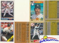 Rare Lot of (20) Different Topps Don Mattingly ERROR CARDS from 1987-1992 !!