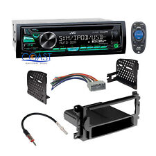 JVC Car Stereo Radio Single Din Dash Kit Harness For 04-08 Chrysler Dodge Jeep