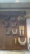 Strut spring compressors