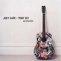 """JOEY CAPE & TONY SLY """"ACCOUSTIC"""" CD NEW!"""