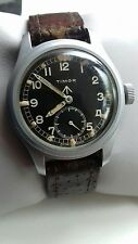 WW2 www British military issued dirty dozen timor hand wind watch being service