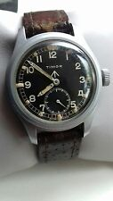 WW2 www British military issued dirty dozen timor hand wind watch good running