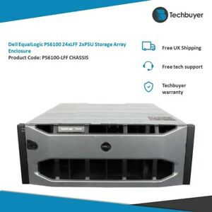 DELL EQUALLOGIC PS6100 24 X LFF 2X PSU STORAGE ARRAY ENCLOSURE