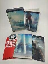 Crisis Core Final Fantasy VII 7 edición de coleccionistas limitada-SONY PSP en muy buena condición! Raro!