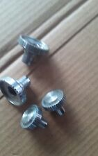 VINTAGE FORD RADIO KNOBS & BEZZELS - RAT ROD --1970s FORD