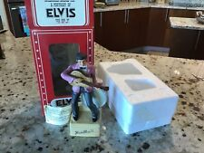Elvis '55 McCormick WHISKEY Decanter Figure & Music Box LIMITED EDITION
