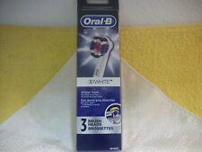 Oral-B 3d White Electric Toothbrush Replacement Brush 3 Count