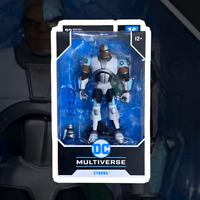DC Multiverse Animated Action Figure Animated Cyborg McFarlane Toys
