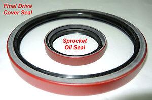 Large Final Drive Cover Seal - Cletrac HG, Oliver OC-3, OC-4 OC-46 Crawler/Dozer