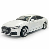 1:32 Scale 2020 Audi A7 Hatchback Model Car Diecast Gift Toy Vehicle Kids White