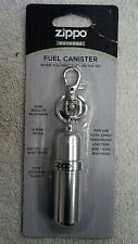 ZIPPO, FUEL CANISTER, WHEN YOU NEED FUEL ON THE GO, ALUMINUM, SWIVEL CLIP, SEALS