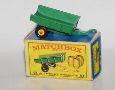 Matchbox Serie 1-75 No. 51 - Tipping Trailer in originaler Verpackung