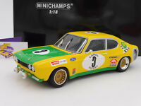 Minichamps 155728503 # Ford Capri RS 2600 No. 3 24h Spa 1972 Birrel 1:18 NEU