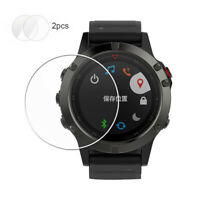For Garmin Fenix 5X Watch Soft TPU Screen Protector Film Anti-Scratch 2pcs