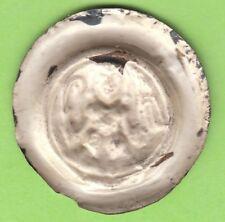 Naumburg Brakteat 1242-1272 Strehla extreme rare Type leipzig