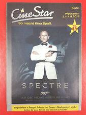 DANIEL CRAIG - SPECTRE JAMES BOND 007 - German promo FLYER
