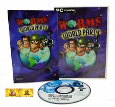 Worms World Party PC Video Game Combat Tactics Shooter