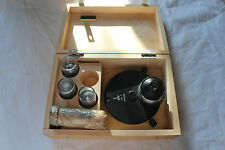LOMO Microscope Phase Contrast Set Condenser KF4 with objectives