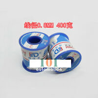 QTY:1 NEW High purity rosin core solder wire diameter 0.8mm 1 roll 400g