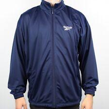 Vintage REEBOK Blue Tracksuit Top Jacket | Retro Classic Sport | Medium M