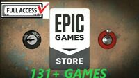 ✅Account Epic games store with all ([137+]  games) from giveaways NEW✅