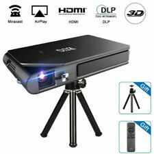 New ListingPortable Hd 3D Projector Dlp Home Theater Wifi Mirascreen Airplay Movie Wireless