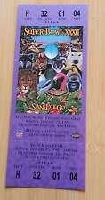 SUPER BOWL FOOTBALL TICKET - FULL - 1998 XXXII 32 - BRONCOS  PACKERS - MINT