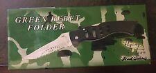 "The Green Beret Folder, The Flying Falcon Pocket Knife, 5 1/4 "" Closed"